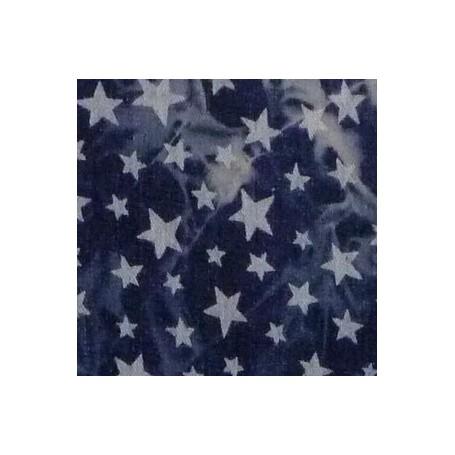 Jeans stretch ombres et étoiles