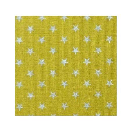 Batiste Olive étoiles argent