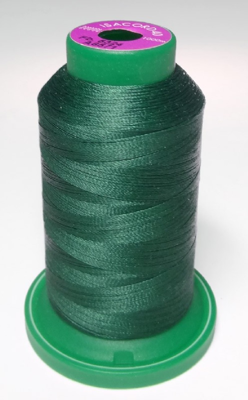 Fil broderie ISACORD - Les Verts